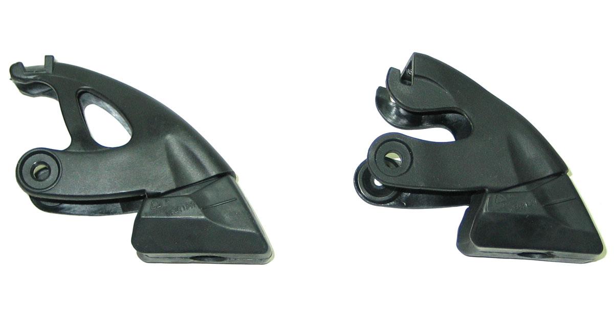 brake pad stopper rubber for salomon inline skates pair of. Black Bedroom Furniture Sets. Home Design Ideas