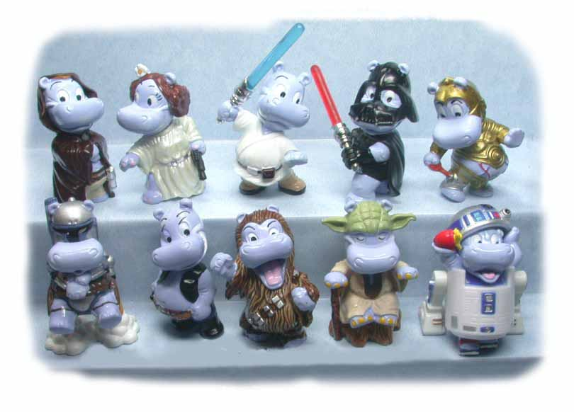 kinder egg toys ferrero happy hippos star wars set 10 figurines have a look ebay. Black Bedroom Furniture Sets. Home Design Ideas